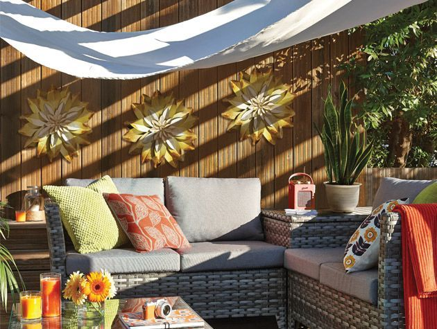 How to design an outdoor living room 1