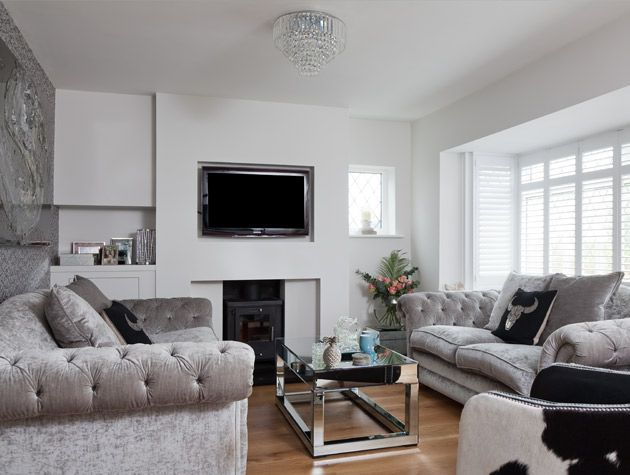 Take inspiration from this stylish and elegant space 3