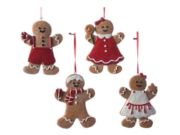 ginger bread tree decorations