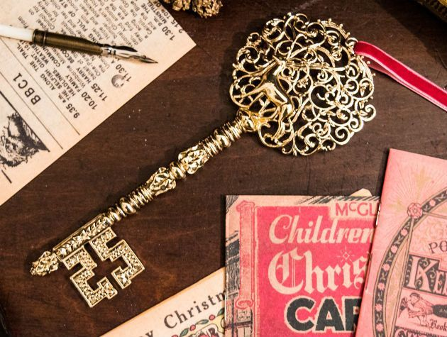 A magic key from Santa Claus
