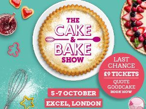cake and bake show ad banner for London 2018 special offer - cake decorating tips - kitchen - goodhomesmagazine.com