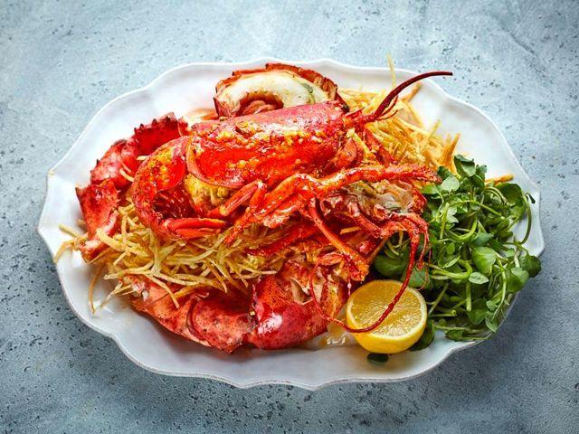 Lobster Tom Dick And Harrys restaurant