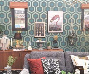 retro living room roomset good homes ideal home show 2019 copy