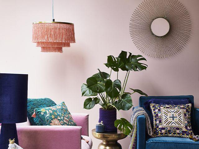 fringe light debenhams - aw19 lighting trends - inspiration - goodhomesmagazine.com