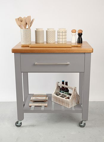 tg woodware island - how to get a kitchen island look for less - kitchen - goodhomesmagazine.com