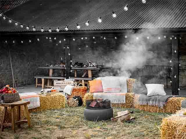 garedn trading bonfire shot - how to host bonfire night - inspiration - goodhomesmagazine.com