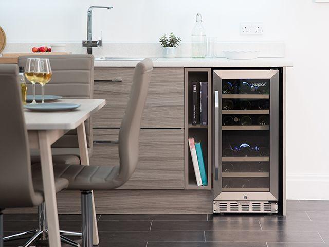 husky lifestyle wine fridge - dining room - goodhomesmagazine.com