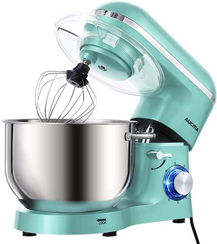 cheap stand mixer for baking - Aucma 6.2L Food Mixer with Dough Hook, Wire Whip & Beater