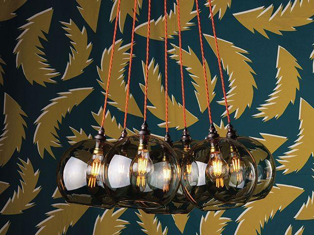 ideal home show sponsor fritz fryer's hereford cluster chandelier - christmas - goodhomesmagazine.com