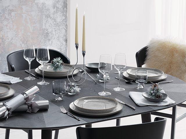 john lewis snowy christmas table - dining - goodhomesmagazine.com