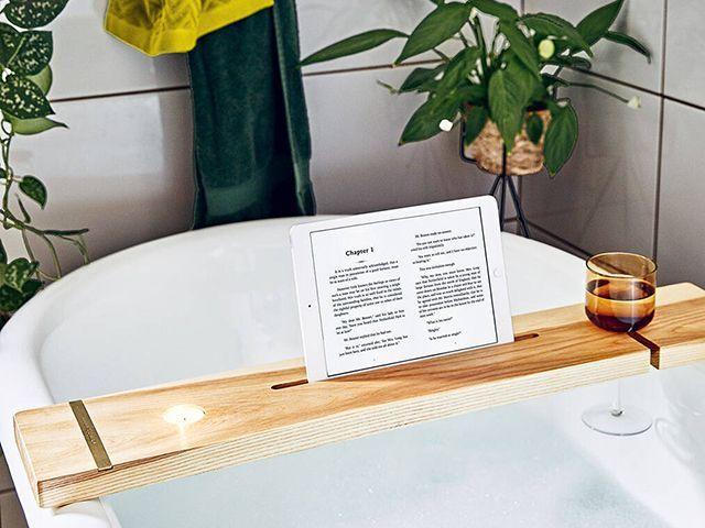 not on the high street bath bridge stand christmas gift - goodhomesmagazine.com