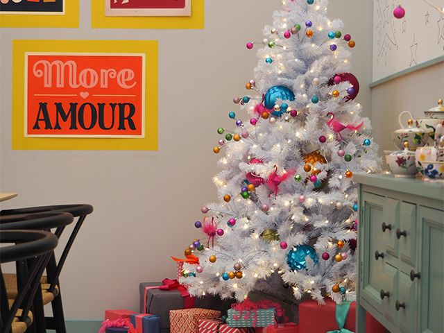poundlandtree - hero buys from the ideal home show christmas - roomsets - goodhomesmagazine.com