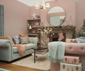winter jewels roomset by good homes at ideal home show christmas 2019