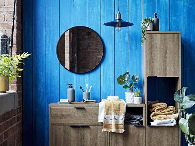 argos industrial bathroom scheme - bathroom - goodhomesmagazine.com