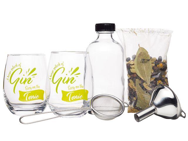 barcraft gin making kit - christmas gift - goodhomesmagazine.com