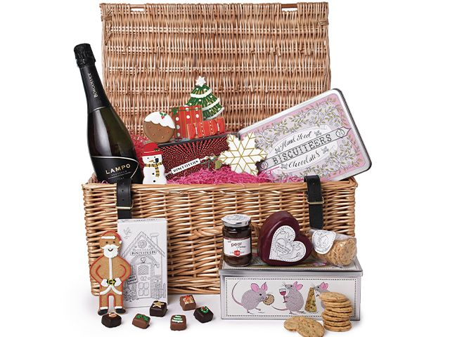biscuiteers hamper - 6 of our favourite Christmas hampers - shopping - goodhomesmagazine.com