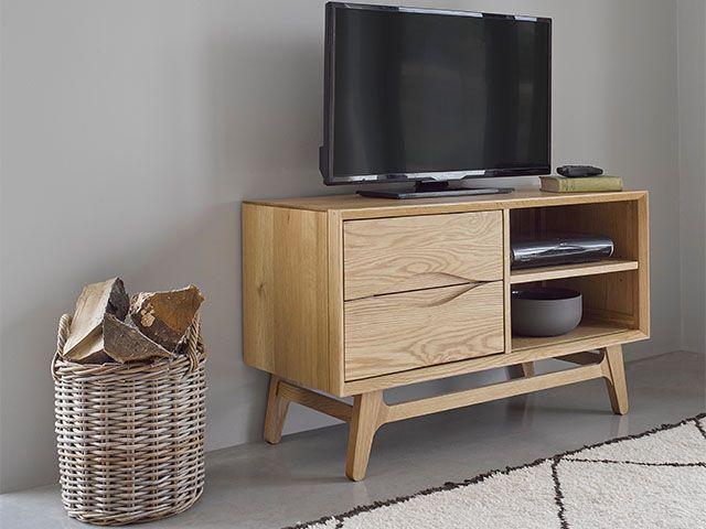 oakfurnituerland - 7 stylish media units - living room - goodhomesmagazine.com