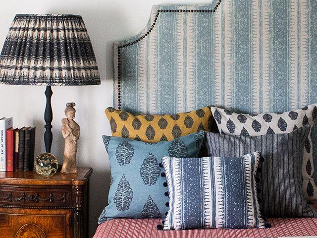 Julia Brendel tribes fabric - goodhomesmagazine.com