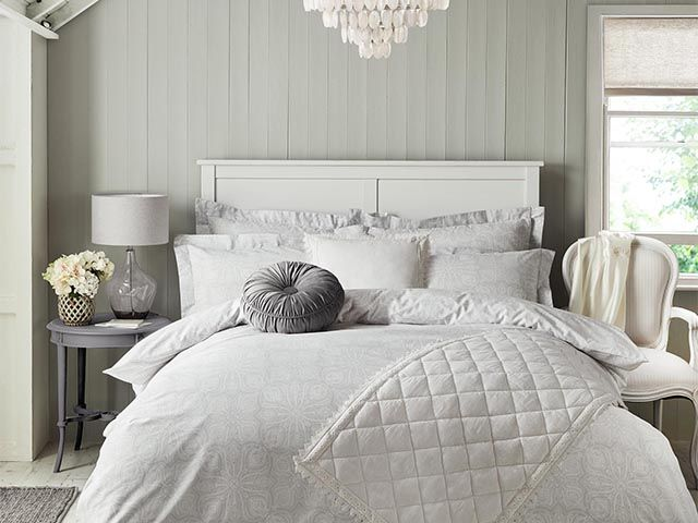 holly willoughby grey bedding for dunelm - Holly Willoughby launches new bedding range from Dunelm - bedroom - goodhomesmagazine.com