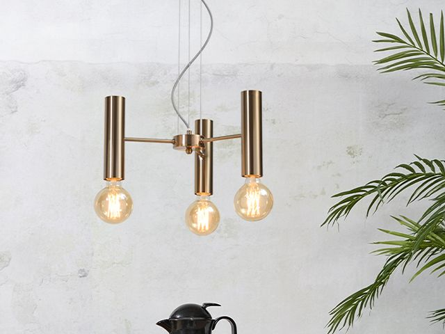 gold bulb chandelier - 5 chandeliers to suit every interior style - shopping - goodhomesmagazine.com
