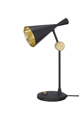 tom dixon black and gold lamp - black colour palette: our top picks - inspiration - goodhomesmagazine.com