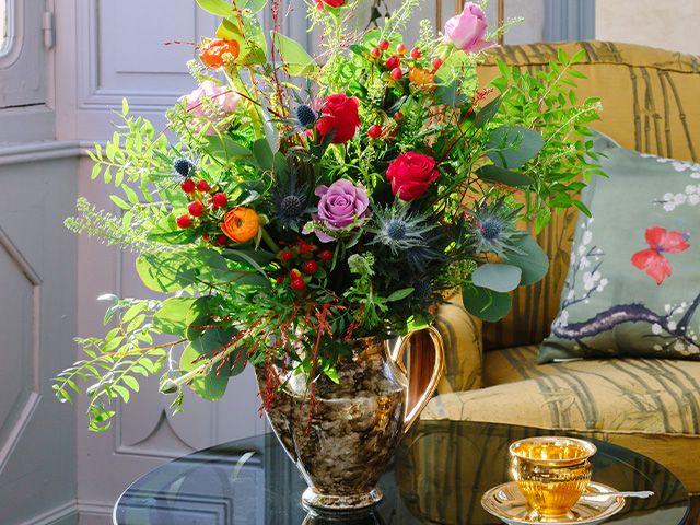 chateau wild rose bouquet - angel strawbridge unveils flower collection with next - news - goodhomesmagazine.com