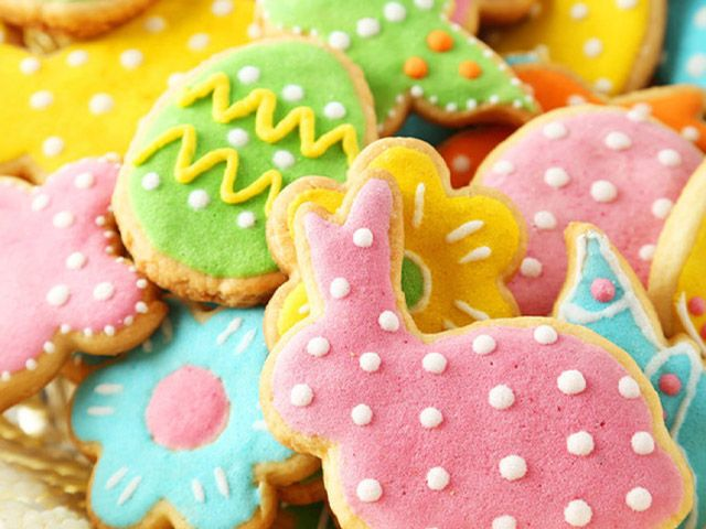 iced easter biscuits - Easter bakes: 4 easy recipes - kitchen - goodhomesmagazine.com