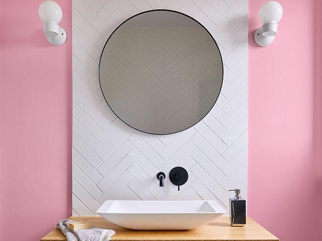 valspar pink shade - valspar changes names of outdated pink colours - news - goodhomesmagazine.com