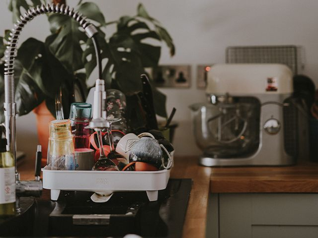 washing up storagem n- top 3 natural cleaning products you can make at home - inspiration - goodhomesmagazine.com
