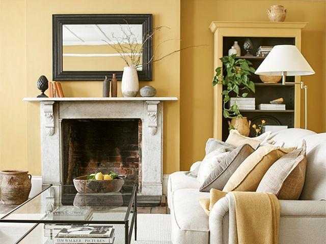 yellow living room neptune
