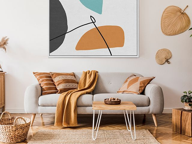 abstract house warm palette - easy cleaning jobs you can do during lockdown - inspiration - goodhomesmagazine.com