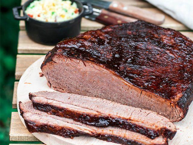 beef brisket bbq recipe - 4 mouth-watering meaty BBQ recipes - kitchen - goodhomesmagazine.com