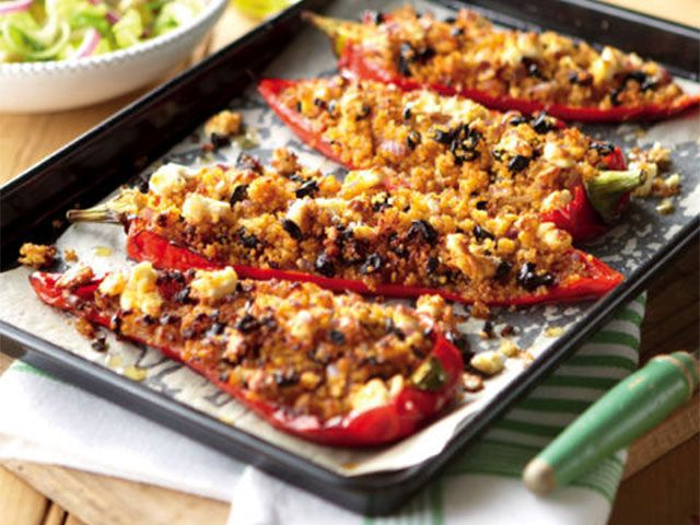 stuffed bbq peppers - 4 BBQ recipes suitable for vegetarians - kitchen - goodhomesmagazine.com