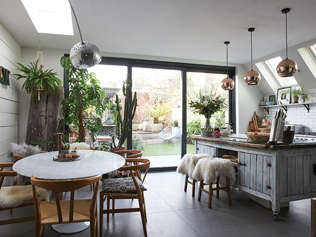 industrial style kitchen extension - goodhomesmagazine.com