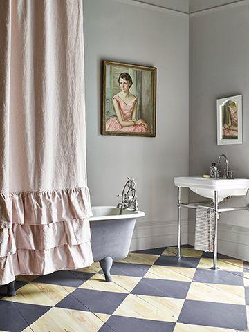 annie sloan bathroom - 6 tips for styling a heritage-style bathroom - bathroom - goodhomesmagazine.com