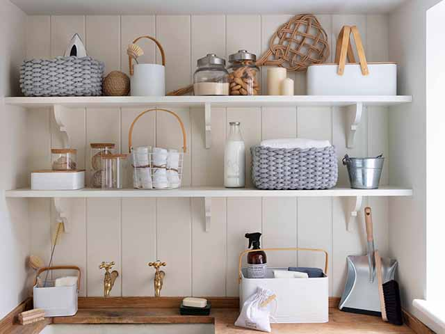 beige utility room - experts answer the 10 most common cleaning questions - inspiration - goodhomesmagazine.com