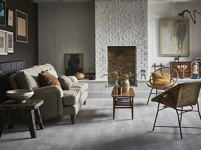grey carpet boho - experts answer the 10 most common cleaning questions - inspiration - goodhomemsagazine.com