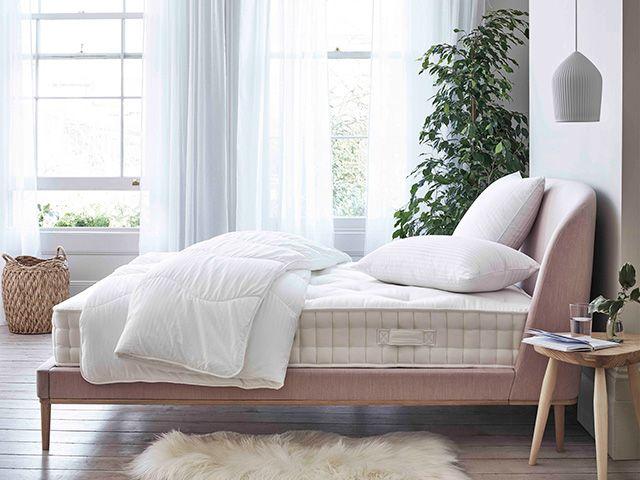 Spring summer duvet in pretty bedroom - goodhomesmagazine.com