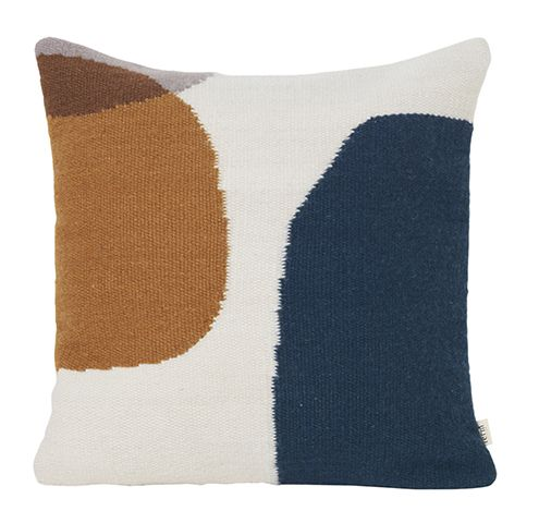 terracotta and navy cushion - the terracotta trend: our top picks - inspiration - goodhomesmagazine.com