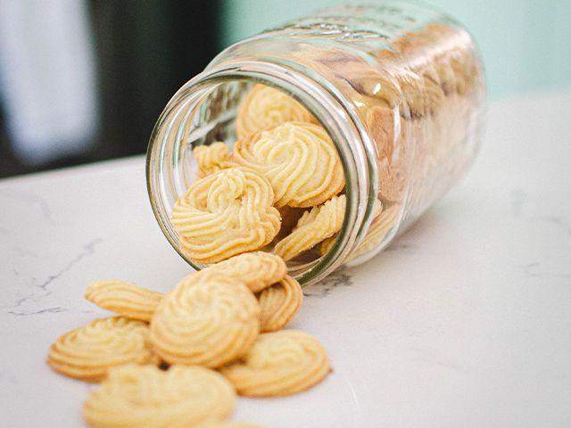 biscuit jar - 5 creative ways to decorate your kitchen for free - kitchen - goodhomesmagazine.com