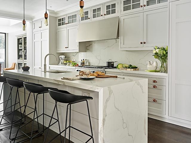 marble kitchen layout - 5 things to consider when choosing a kitchen island - kitchen - goodhomesmagazine.com