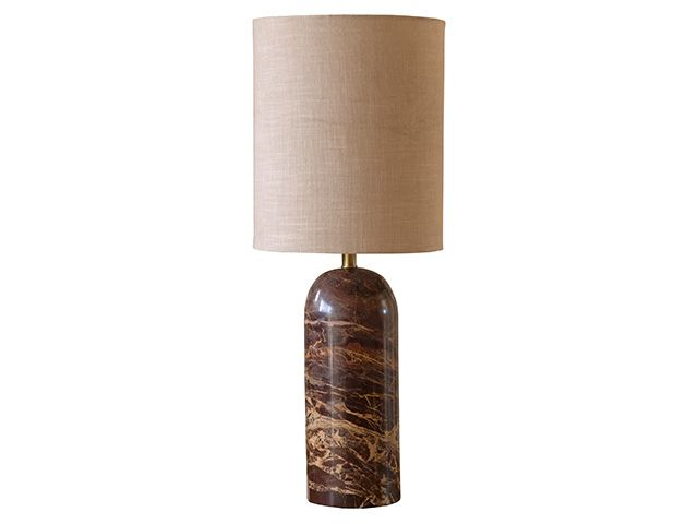 Rockett st george wine red marble table lamp - shopping - goodhomesmagazine.com
