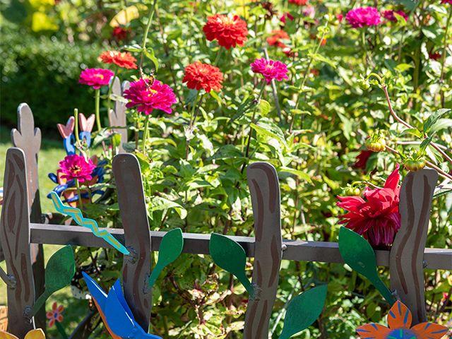 flower garden - how to make your garden eco-friendly - garden - goodhomesmagazine.com