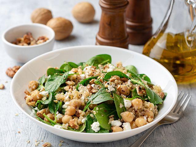 moroccan pulse salad -5 fresh andsimple summer salad recipes - kitchen -goodhomesmagazine.com