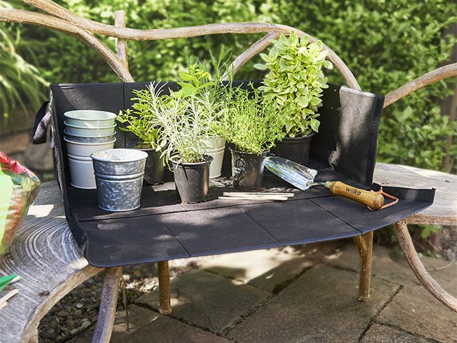 potting station - wilko's new garden range is perfect for small spaces - news - goodhomesmagazine.com