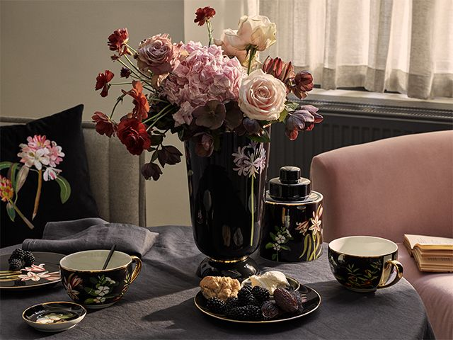 botanical collection hm - h&m home collaborates with the british museum - news - goodhomesmagazine.com
