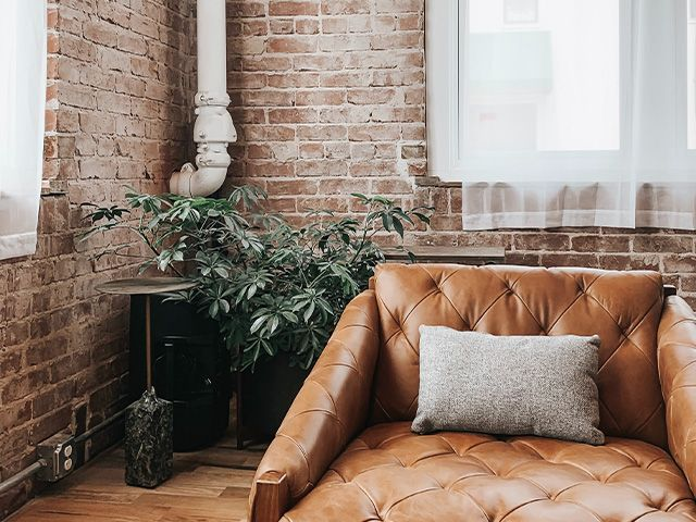 exposed brick wall - how to expose brickwork at home - inspiration - goodhomesmagazine.com