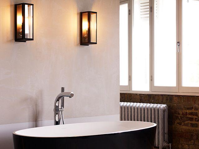 bathroom wall lights - 5 ways to create a cosy lighting scheme - inspiration - goodhomesmagazine.com