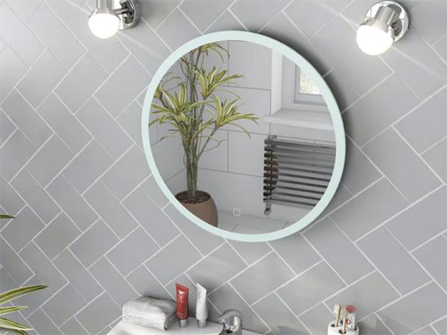 demisting mirror in a modern bathroom - goodhomesmagazine.com