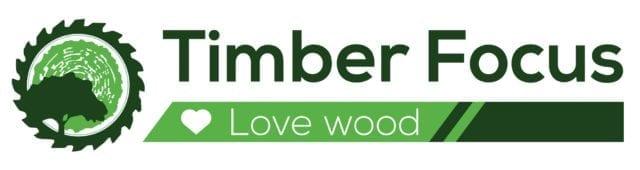 timber focus love wood logo